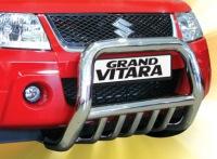 Тюнинг красного Suzuki Grand Vitara